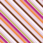 Riley Blake Designs - Little Matryoshka - Stripes in Purple