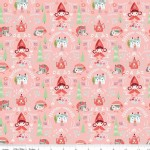 Riley Blake Designs - Little Red In the Woods - Damask in Pink