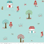 Riley Blake Designs - Little Red Riding Hood - Main in Aqua
