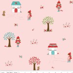 Riley Blake Designs - Little Red Riding Hood - Main in Pink