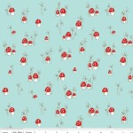 Riley Blake Designs - Little Red Riding Hood - Mushrooms in Aqua