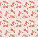 Riley Blake Designs - Wonderland - Floral in Pink