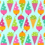 Robert Kaufman Fabrics - Desert Party - Cones in Aqua