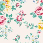 Tilda Fabrics - Apple Butter - Shirly in White