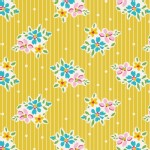 Tilda Fabrics - Apple Butter - Nancy in Yellow