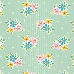 Tilda Fabrics - Apple Butter - Nancy in Teal