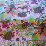 Trans Pacific Textiles - TPT - Snow White in Pink